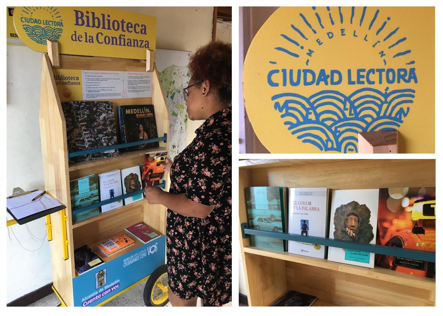 Bibliotecas que llegan al barrio para promover la confianza