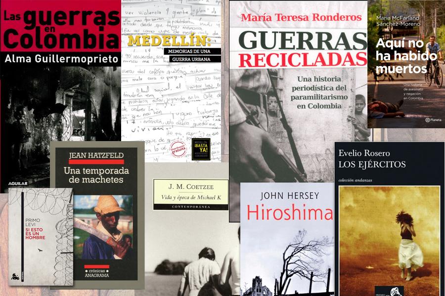 Libros que nos traducen los renglones de la guerra